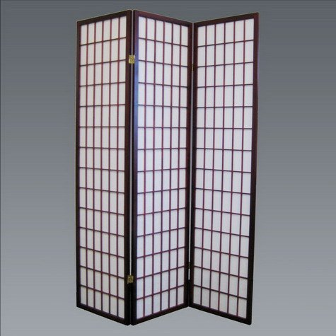 Brand New 18''x 71''H Cherry Finish 3-Panel Wood Room Divider / Screen