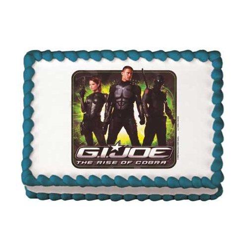 G.I. Joe Rise of the Cobra Edible Image Cake Decoration -