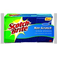 9-Pack Scotch-Brite Non-Scratch Scrub Sponge (Clean Tough Messes without Scratching)
