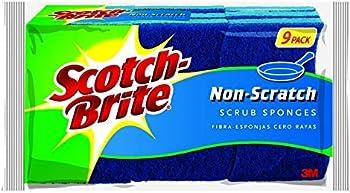 9-Pack Scotch-Brite Non-Scratch Scrub Sponge