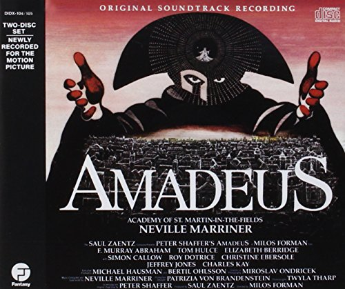 Cover of Amadeus: Original Soundtrack Recording