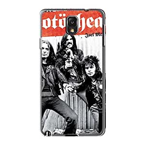 Shockproof Hard Cell-phone Cases For Samsung Galaxy Note3 With Custom Trendy Motorhead Band Image SherriFakhry
