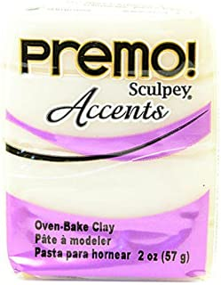 product image for Sculpey Premo Premium Polymer Clay (Translucent White) 4 pcs sku# 1823698MA