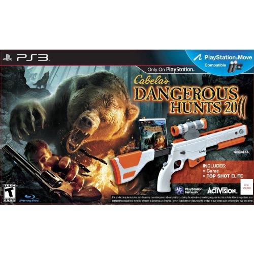 Cabela's Dangerous Hunts 2011 with Top Shot Elite - Playstation (Cabelas Deer)