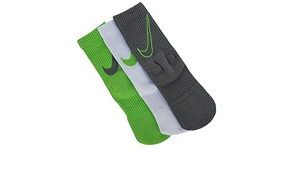Nike Dri-FIT - Calcetines acolchados para niño (3 unidades) - - S ...