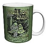 Harriet Beecher Stowe Uncle Tom's Cabin Classic Literature Literary Vintage Book Cover Art Decorative Ceramic Gift Coffee (Tea, Cocoa) 11 Oz. Mug