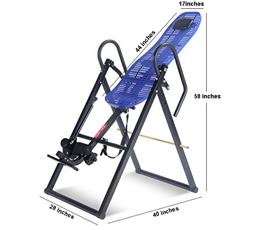 Inversion Table w/ Back Pain Relief by Sporting Goods