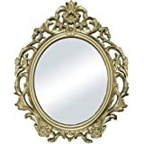 Better Homes and Gardens Baroque Wall Mirror, Gold