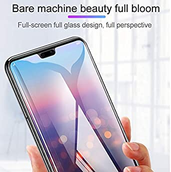 JIN Cell Phone Accessory 25 PCS Scratchproof 11D HD Full Glue Full Curved Screen Tempered Glass Film for Google Pixel 3 Black Color : Black Used for Phone