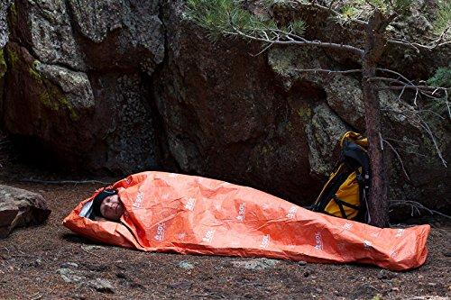 Adventure Medical Kits - Saco de Dormir Momia para Acampada, Color Naranja 3
