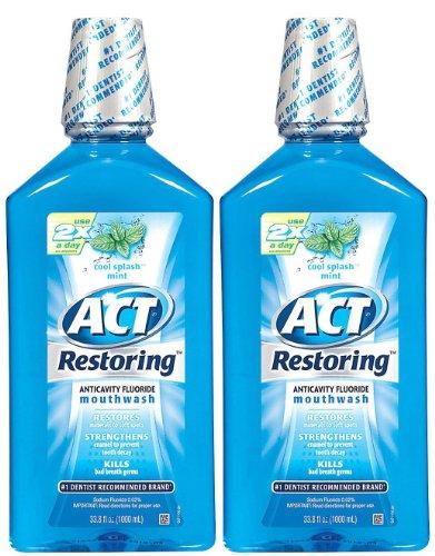 ACT Anticavity Fluoride Mouthwash Splash