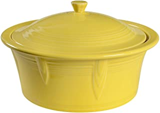 product image for Homer Laughlin Covered Casserole, Sunflower
