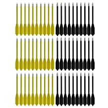 SPEED TRACK 60pcs for 50lb 80lb Pistol Crossbow Cobra Small Bolts Plastic Sharp Arrows
