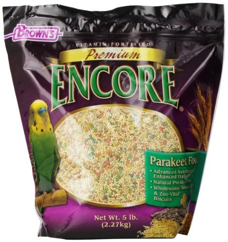 F.M. Brown's Encore Parakeet Food, 5-Pound by Fm Browns