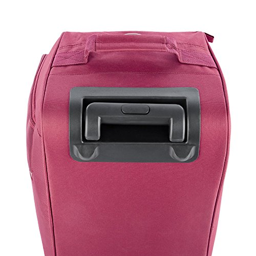 Safari Polyester 66 cms Red Softsided Suitcase (GRADIENT-RDFL-65-RED)   Amazon.in  Bags fe98c7b82a8c1
