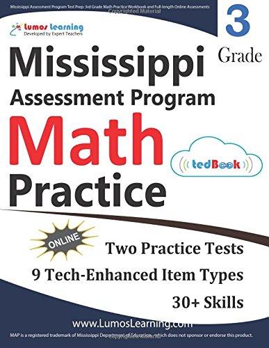 Mississippi Assessment Program Test Prep: 3rd Grade Math Practice ...
