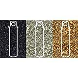 Metallic Miyuki Seed Beads Mix, Size 15/0, Galvanized Silver, Galvanized Gold and Black Opaque (8.2 Gram Tubes X 3)