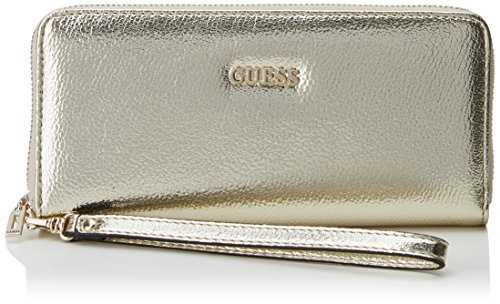 GUESS SWMG67 78460 KINLEY SLG LARGE MONEDEROS Mujer Dorado (Oro)