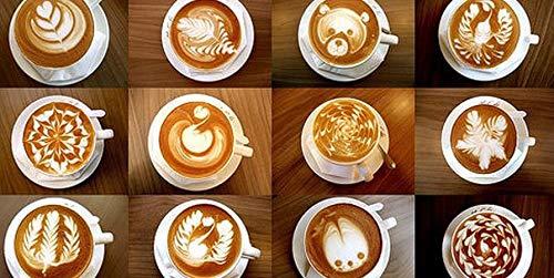 Handheld Elektrischer Milchaufschäumer xpassion Edelstahl Kaffee Milchaufschäumer mit doppelter Schneebesen, Remasuri
