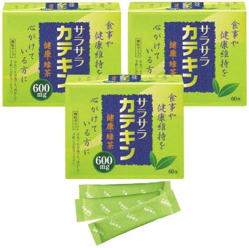 小林薬品工業 サラサラカテキン 60包入り 3個セット B00BVW2KRC