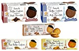 Pierre Biscuiterie French Butter Cookies Variety 5 Pack