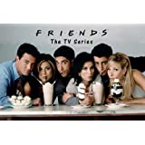 Friends Milkshake 24x36 Poster Jennifer Aniston Courtney Cox