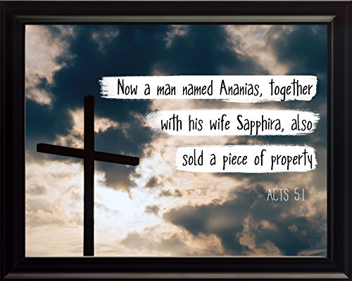 acts-51-now-a-man-named-ananias-christian-poster-print-picture-or-framed-wall-art-decor-bible-verse-