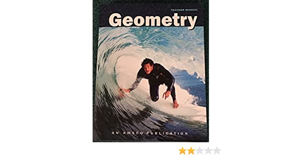 amsco geometry teachers manual