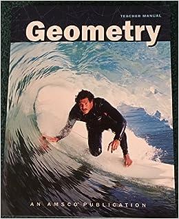 Geometry Teacher Manual: Joyce Bernstein: 9780789189301