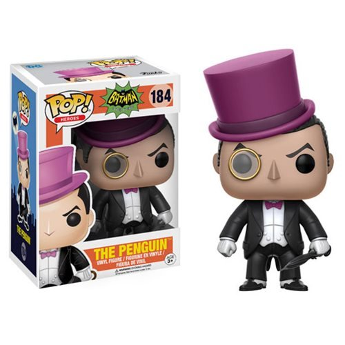 Batman 1966 TV Series Penguin Pop! Vinyl Figure (Penguin Man From Batman)