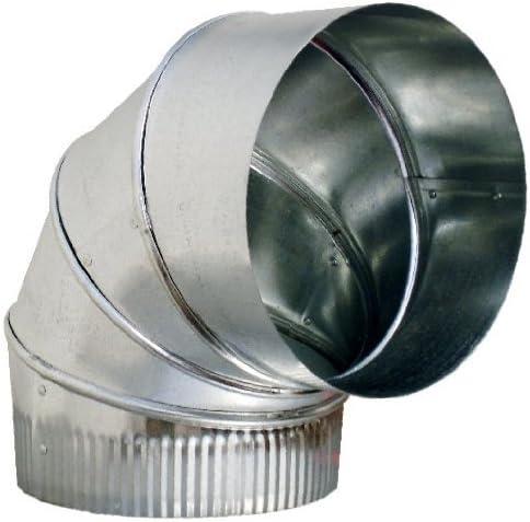 55 x 220 mm Codo de conducto horizontal de 90/° para sistemas de ventilaci/ón de canal plano conducto de salida o de aire conducto de salida de aire en /ángulo