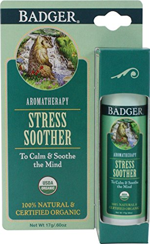 Badger Stress Soother Aromatherapy Balm - .6 oz Stick (2 Pack)
