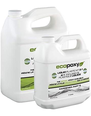 EcoPoxy - Liquid Plastic (1, 6 Liter - 2:1 Mix)