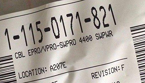 115-0171-821, CBL EPRO/VPRO-SWPRO 4400 SWPWR, RAVEN by Raven