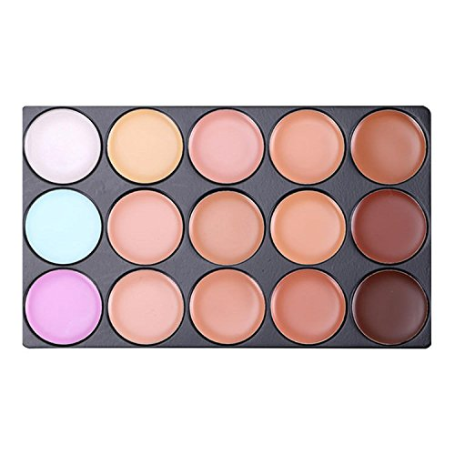 Goldenfox Women Cosmetic Professional Neutral Face Makeup Concealer Palette Concealers & Neutralizers by Goldenfox (Image #4)