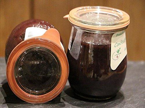 Chutney van Wilde Bosbessen Ui – Confit d'Oignons uit Franse Alpen – 200g