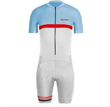Amazon.com: Uglyfrog diseños acolchado Ciclismo Skinsuit una ...