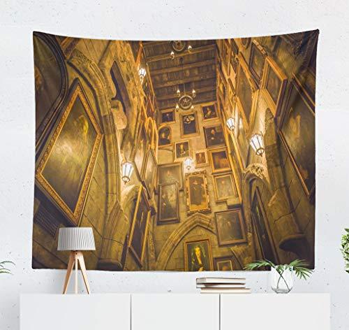 ONELZ Wall Hanging Tapestry Japan November Visiting Castle Walk Portrait Universal Studio Architecture Decor Collection Bedroom Living Room 60