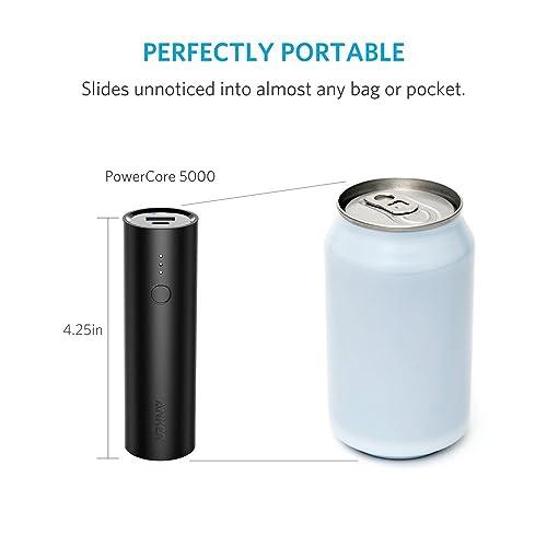 明日まで1,599円、最小最軽量のモバイルバッテリ「Anker PowerCore 5000」が発売