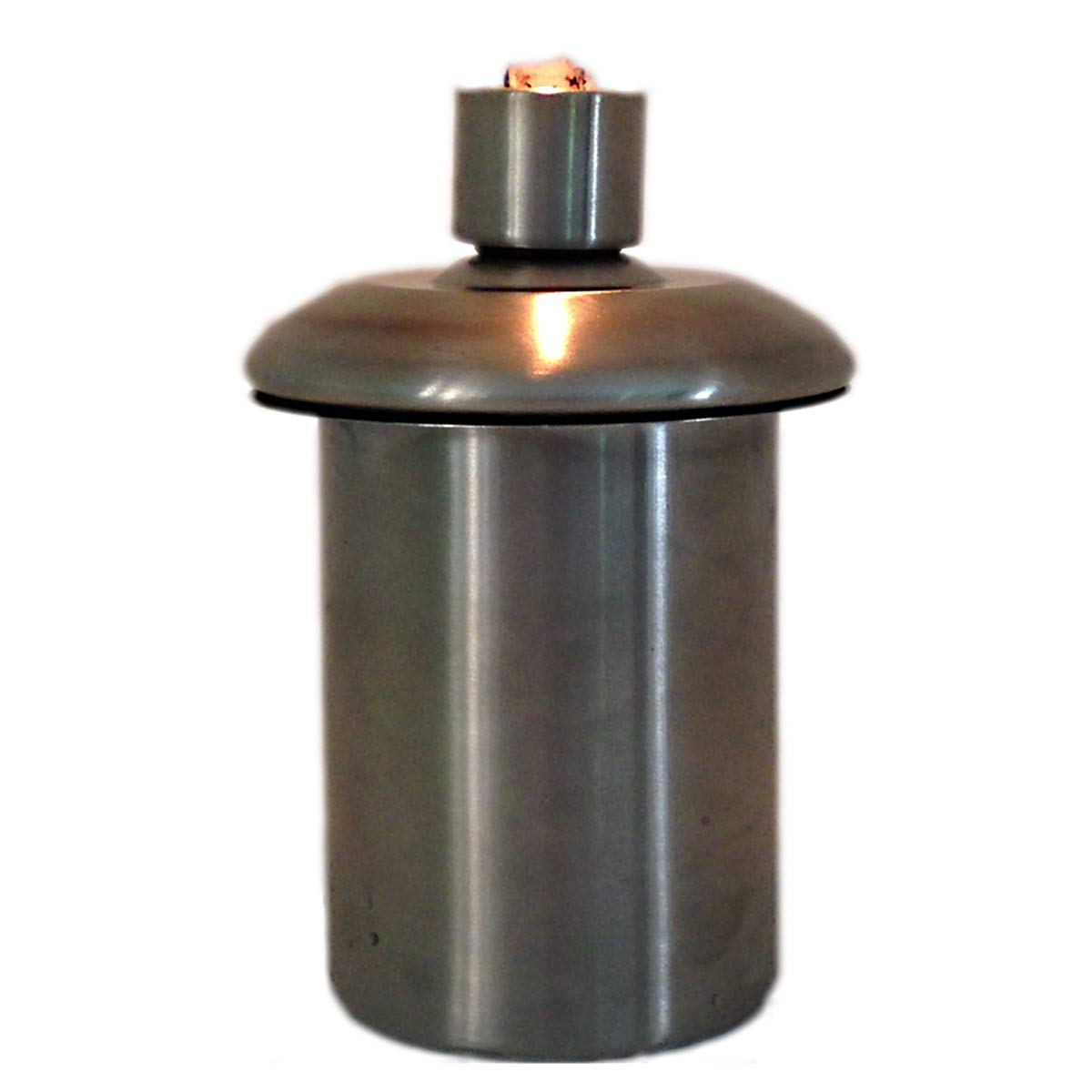Table Top Tiki Torch or Firepot Stainless Steel Refillable Insert