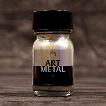 Metallglanzlack Art-Metal Weiss Gold 1000 ml: Amazon.de: Küche ...
