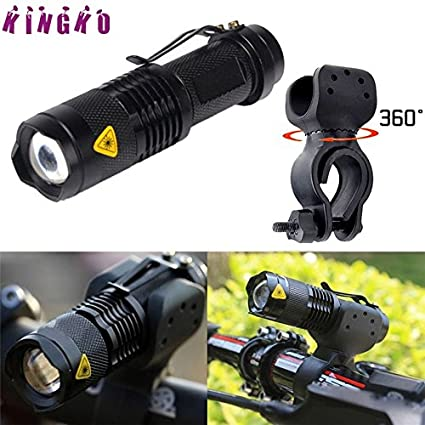1200lm Q5 LED Cycling Bike Bicycle Head Front Flashlight 360 Mount New