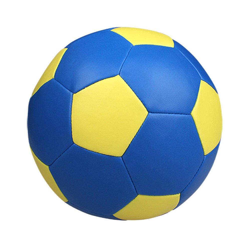 VORCOOL Balón de fútbol para niños Pelota de fútbol suave para niños de 14 cm (azul)