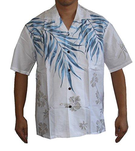 Leaves Mens Aloha Shirt - 1