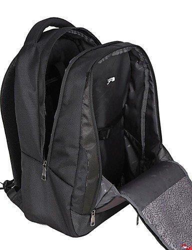 GXS OIWAS Herren Nylon und Terylene 29L Laptop Rucksack Tasche für 15-Zoll-Laptop Dark Green