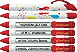 Party Pen by Greeting Pen- Personalized Celebrate Rotating Message Pen -50 pack- P-PP-100-50