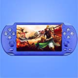 X9-S Portable Game Player - 8GB 8/16/32/64/128Bit Video MP3 Player - 5.1Inch Double Rocker Handheld Retro Game Console for Kids Adults Gaming Battle
