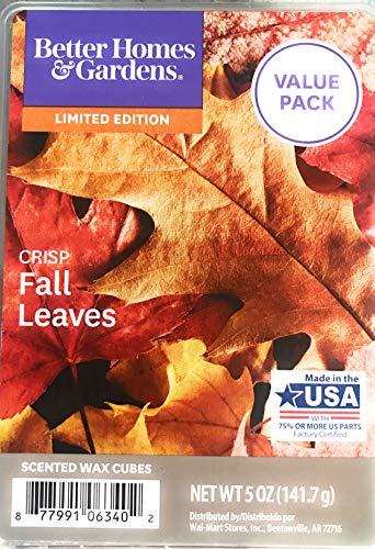 Better Homes & Gardens Scented Wax Cubes (Fall Leaves, 5.0 Oz) from Better Homes