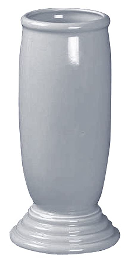 Amazon Fiestaware Millennium Vase 3 Pearl Gray Home Kitchen