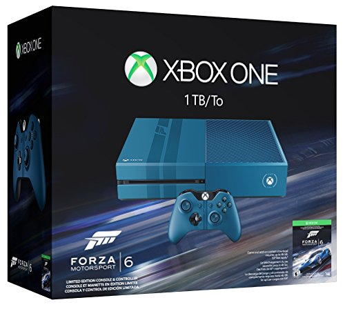 Xbox One 1TB Console – Forza Motorsport 6 Bundle